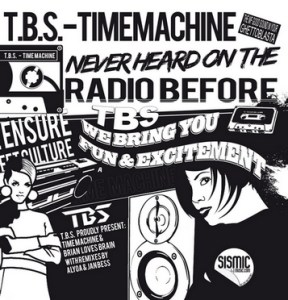 T.B.S. - Time Machine - Sismic Music 029