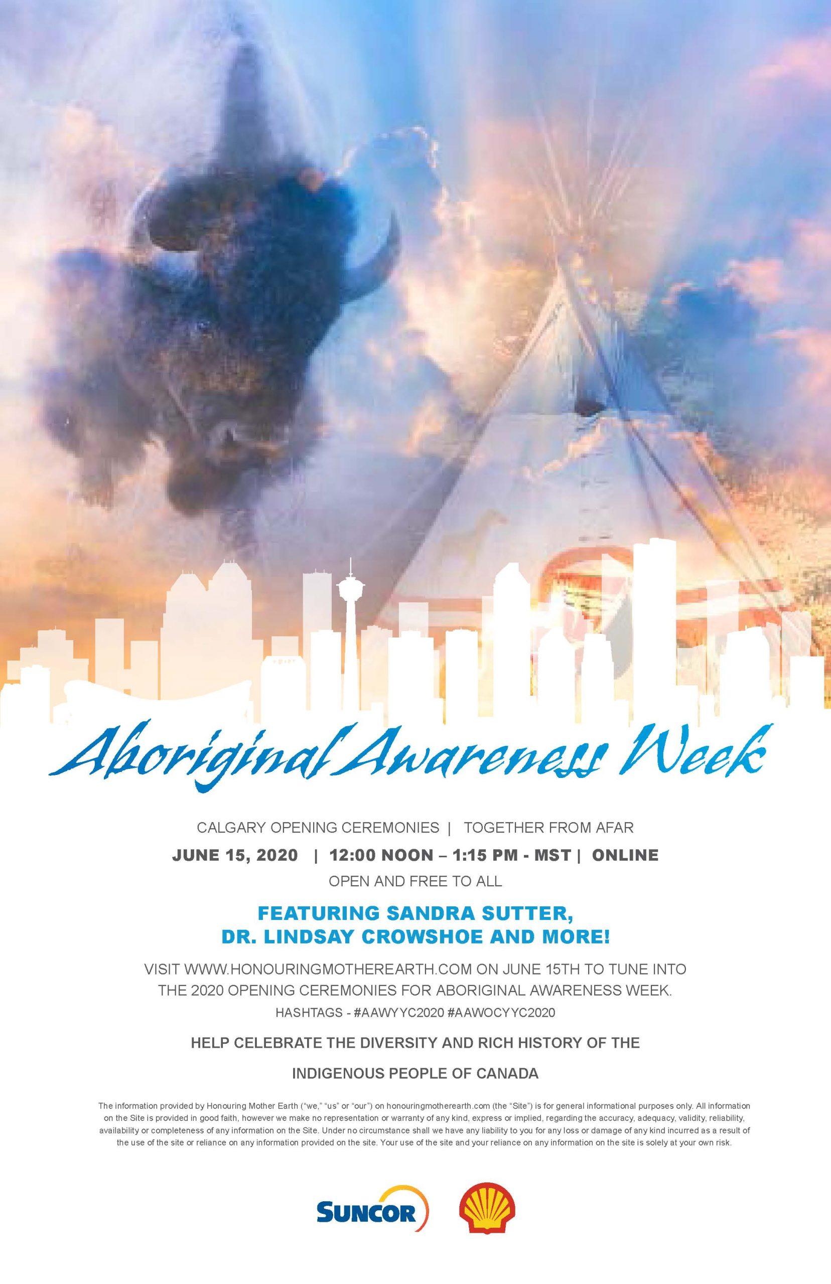 Aboriginal Awareness Week Opening Ceremonies