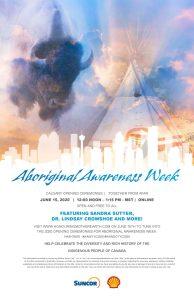 Aboriginal Awareness Week Opening Ceremonies @ Online