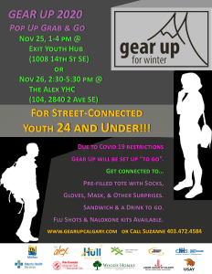 GEAR UP 2020 | Pop up Grab and Go @ The Alex Youth Health Centre