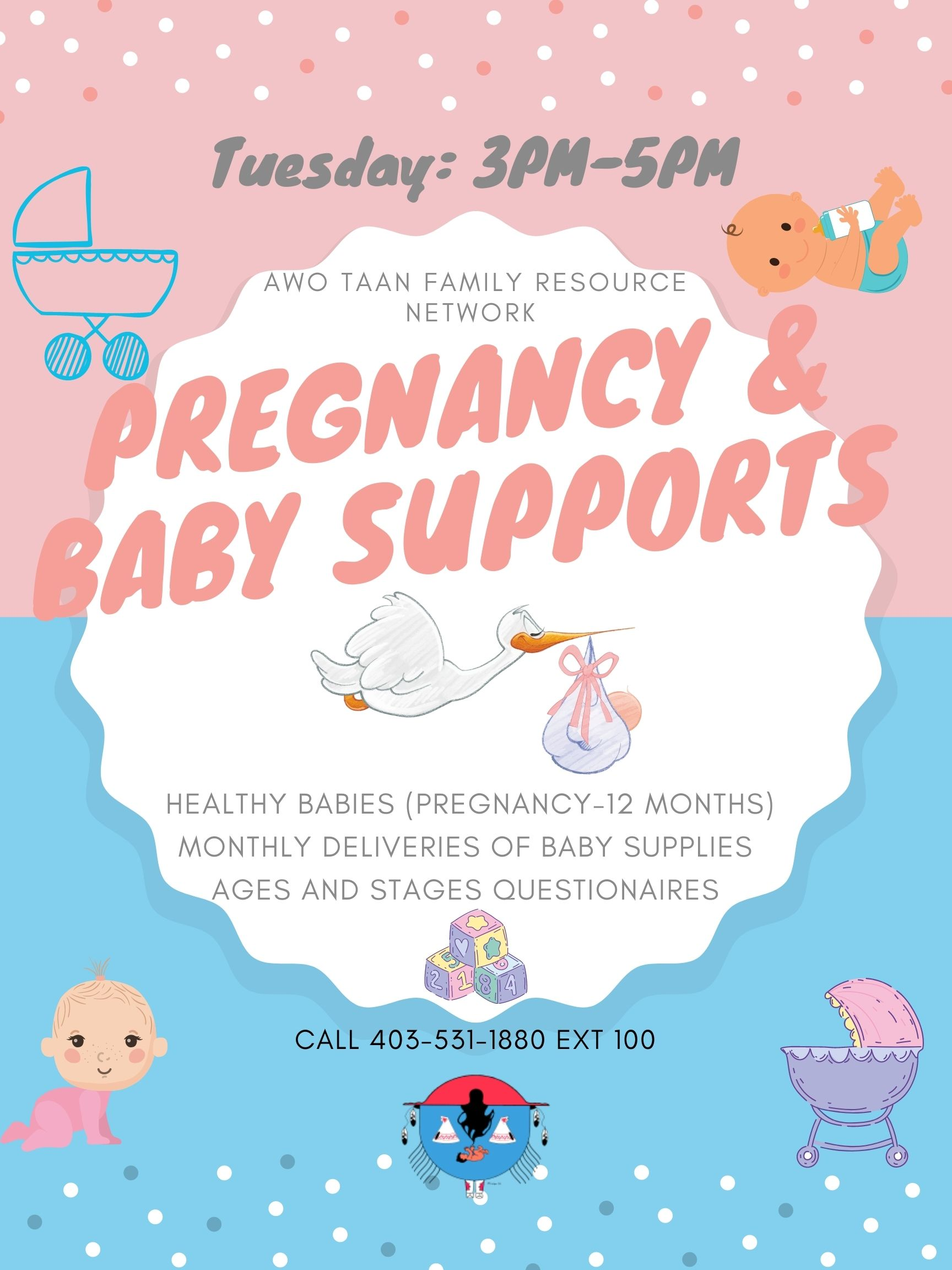 Pregnancy & Baby Supports | Awo Taan Family Resource Network