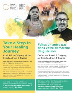 Indian Day School - Community Support Session @ Deerfoot Inn & Casino