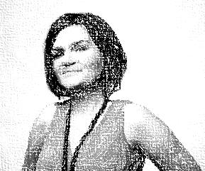 Kirsty Liddiard - black and white photo