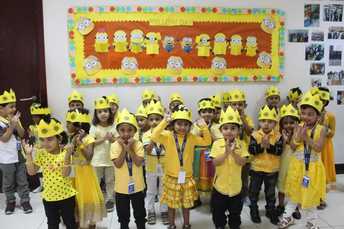 Color Yellow Yellow Song Kindergarten My Students