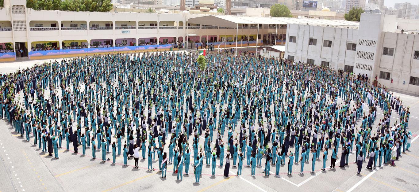 hight resolution of Sharjah Indian School