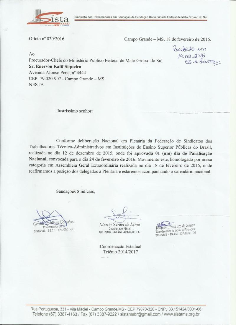 Ofício_MPF_Paralisação