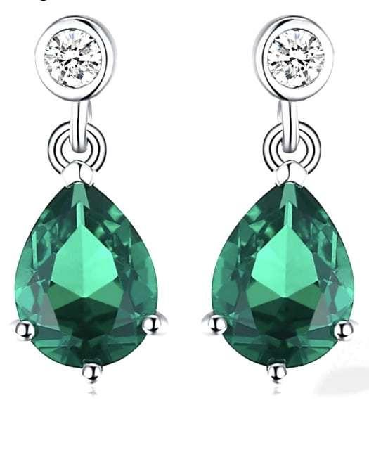 Artemis: Luxury Emerald Earrings