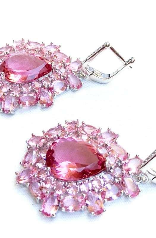 Shine: Sapphire Earrings