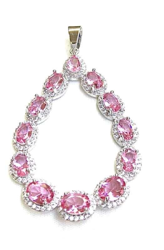 Chantilly: Sapphire Pendant