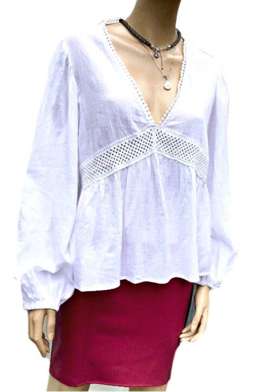 Barcelona: Exquisite Cotton Top