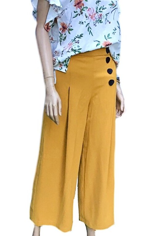 Janice: Sunny Girl Exquisite Pants