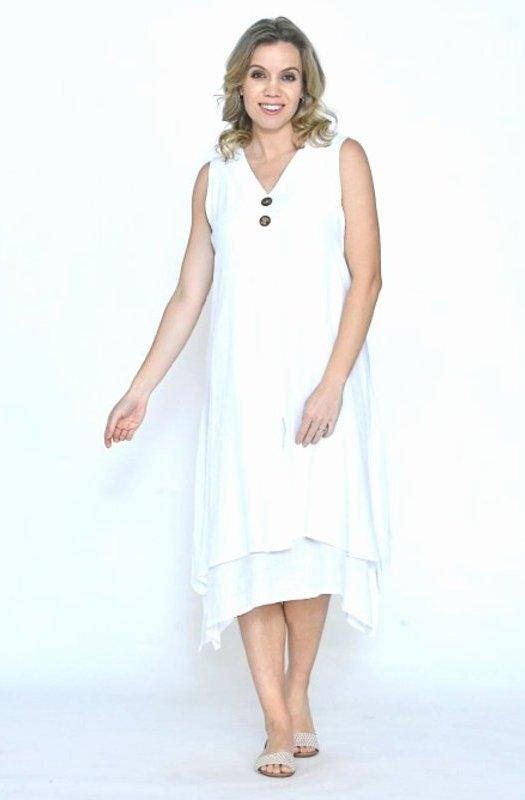 Angelica: Cali&Co Layered Cotton Dress