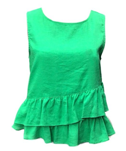 Candy: Sunny Girl Cotton Frill Top
