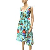 Riviera: Stunning Sunny Girl Cotton Dress
