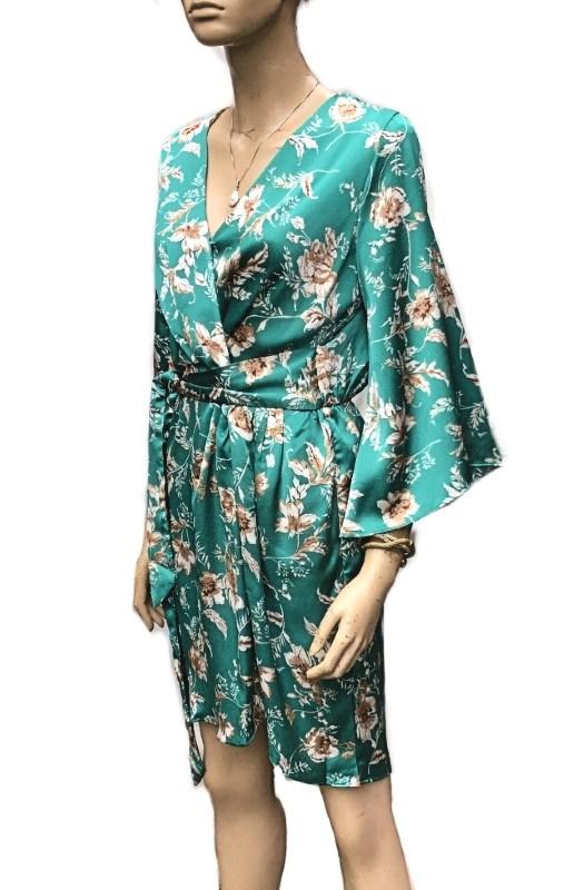Blossom: Sunny Girl Wrap Around Dress