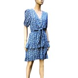 Blue Belle: Exquisite Sunny Girl Dress