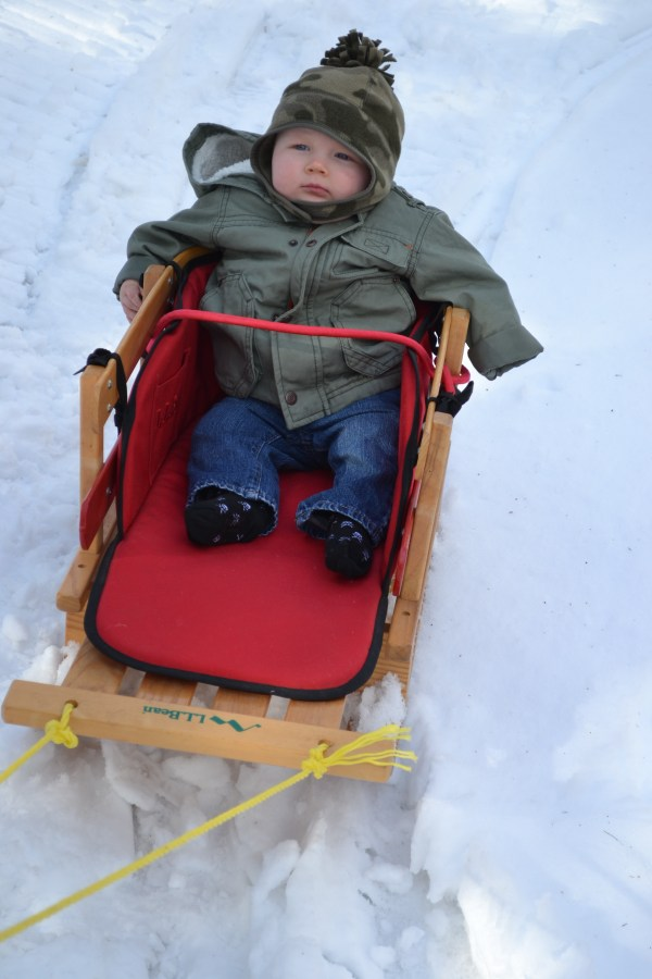 Toddler Snow Sleds Baby
