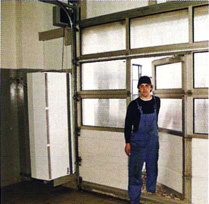 Воздушные тепловые завесы systemair