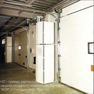 Воздушные тепловые завесы Systemair: Промышленная серия