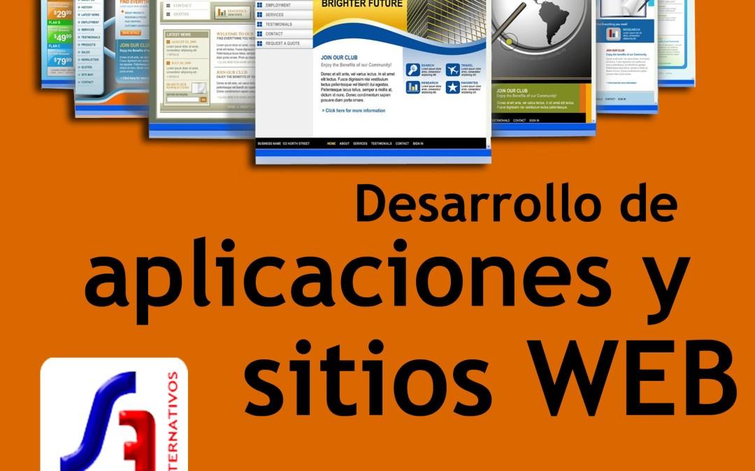 Desarrollo de aplicaciones y sitios Web – Sistemas Alternativos