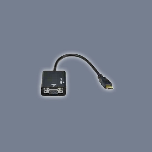 Adaptadores mini HDMI y micro HDMI a VGA