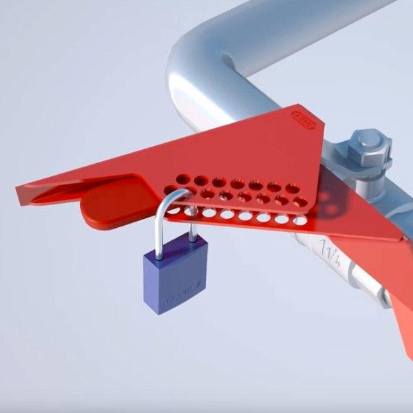 Consignación para Válvulas de Bola tipo Escuadra de Nylon 6-25mm