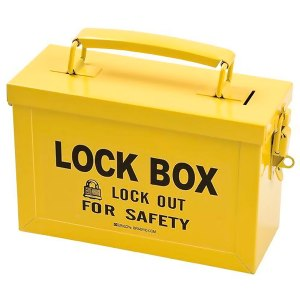 REF:LT00003-1    Caja de Lockout de Color Amarillo