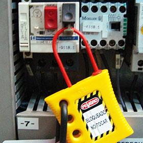 Aplicación en guardamotor Telemecanique.