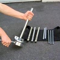 Satellite - Gracias a su estructura desmontable se puede almacenar y transportar fácilmente