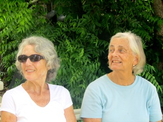 Patricia Hurley and Jenifer Grant