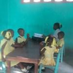 A pre-school classroom in Deschapelles