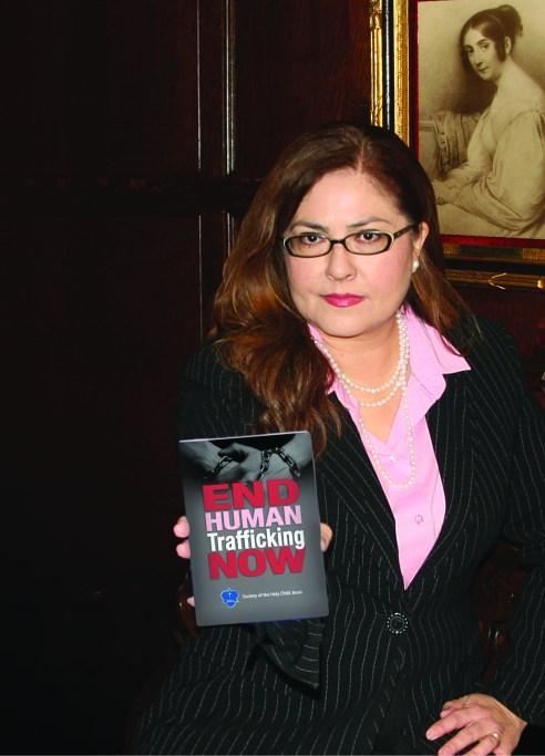 Carmen Chavez, Executive Director of Casa Cornelia Law Center in San Diego, CA.