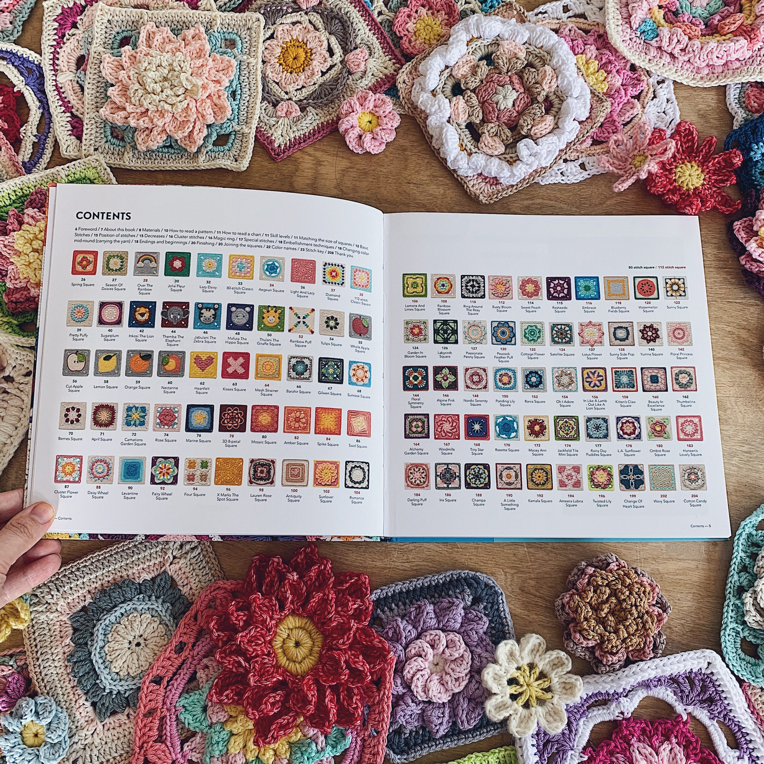Therese-Eghult-SistersInStitch-The-Ultimate-Granny-Square-Sourcebook-Crochetedbytess