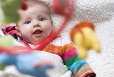 5 brinquedos para recem nascido