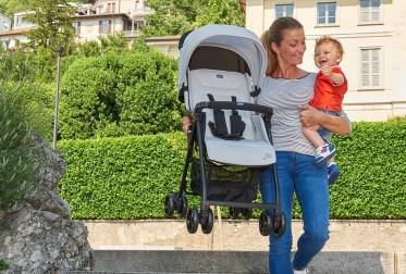 Um dos carrinhos de bebê mais leves do mercado