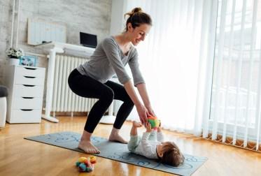 Entenda os benefícios do exercícios para as mães