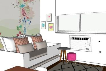 Como decorar o quarto de uma menina de três anos?