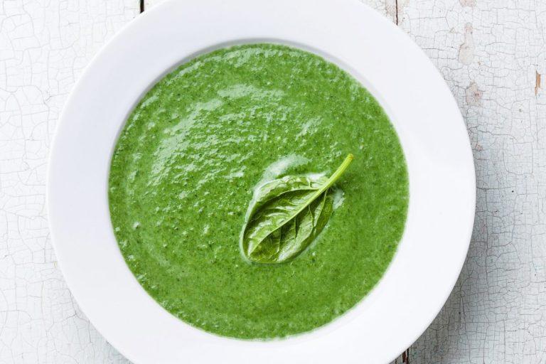 Receita de sopa verde light
