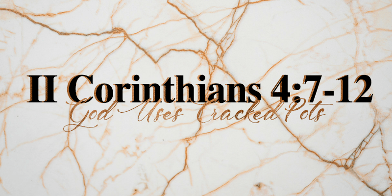 2 Corinthians 4:7-12 Sister Triangle Article