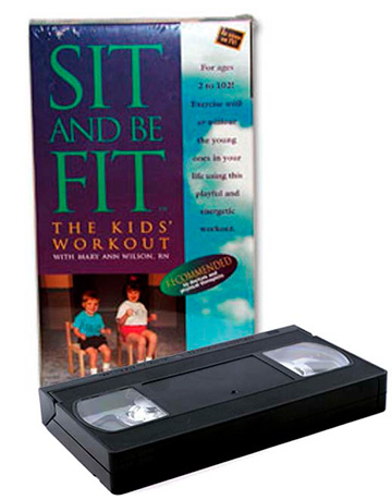KIDS WORKOUT  VHS  Sit and Be Fit
