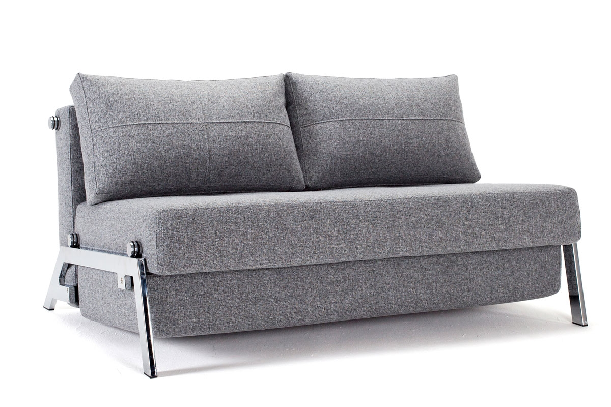 danish style sofa bed uk marco gray chaise by factory outlet reviews innovation cubed 140 chrome sitandsleep