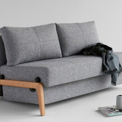 Wooden Sofa Bed Outside Cubed 140 Wood From Innovation Denmark