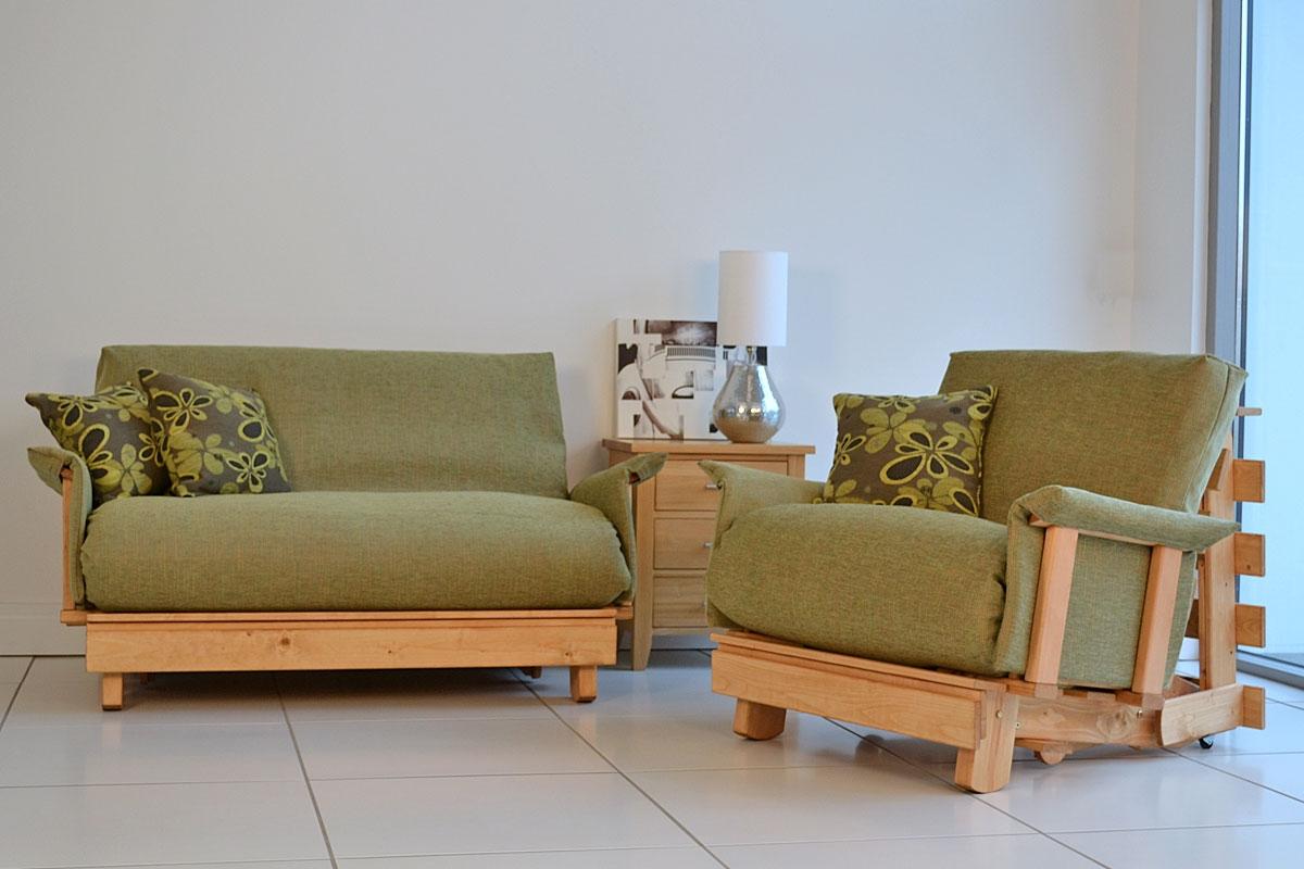 wooden frame sofa beds uk grey velvet fabric futon innovative sit and sleep