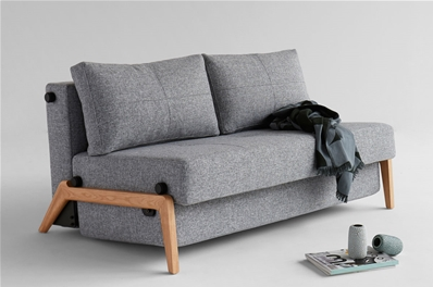 sofa beds uk leather possibilities track arm chaise sectional cubed 140 wood bed from innovation denmark