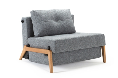 chair bed with arms uk folding chords innovation istyle collection danish sofa beds sitnsleep cubed 90 wood
