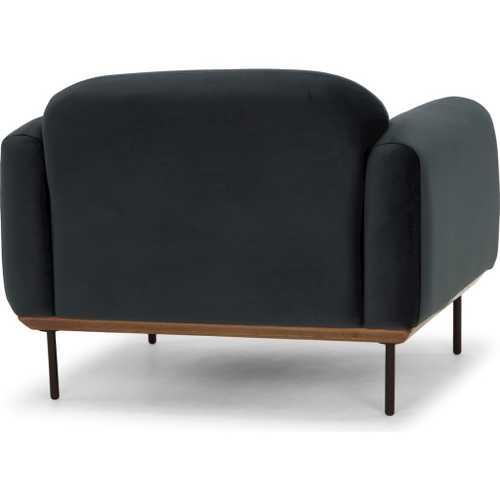 benson sofa beds furniture showroom single seat in shadow grey fabric