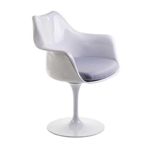 grey arm chair chairite bloom white