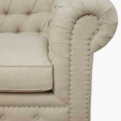 Leona Sofa Bed Hall Table Beige Linen Laf Sectional