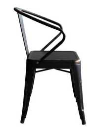 Idell Dining Chair Antique Black Gold - Dining | Side ...