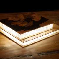 Book Reading Lamp Led Resin